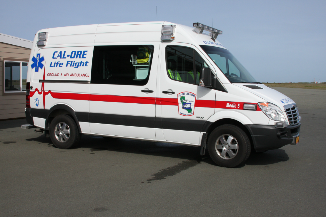 Headquartered in Brookings, Oregon, Cal-Ore offers 24/7 Advanced Life Support transport to destinations throughout Oregon, California and bordering states.