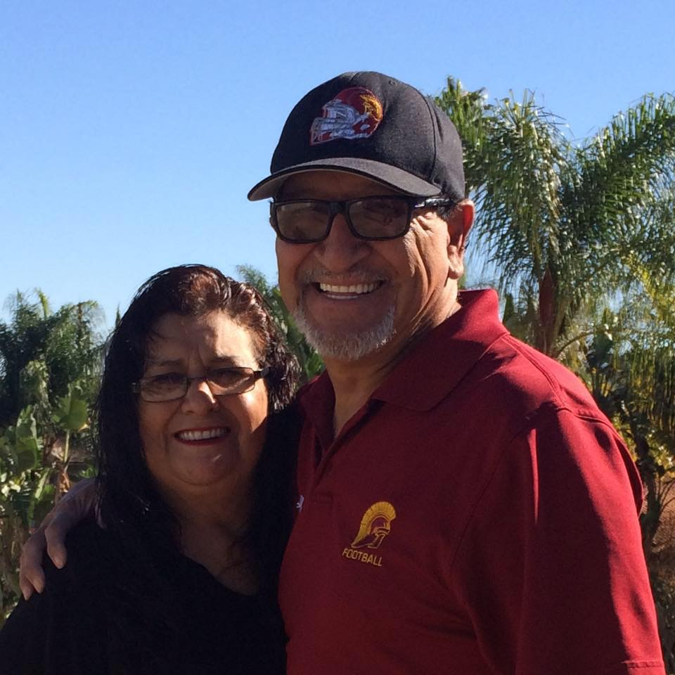 Mr. & Mrs. Martinez have been married for over 40 years.