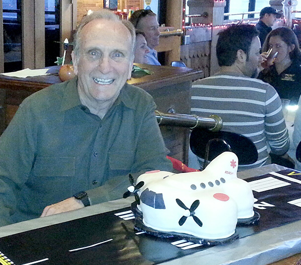 Sid Rockwood, Fixed-Wing Pilot, at REACH 50 has retired after 10 years of amazing service to our company. We wish him well on his new adventures in life. Check out the very cool cake baked by Flight Nurse JoLynne Lundy.